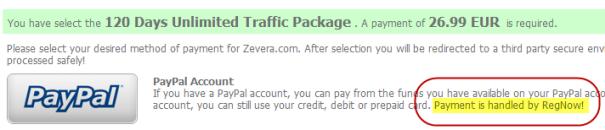 Using PayPal to buy premium accounts