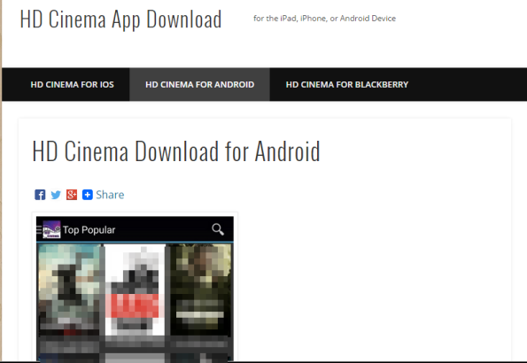 Streaming HD TV Shows and Movies on Mobile